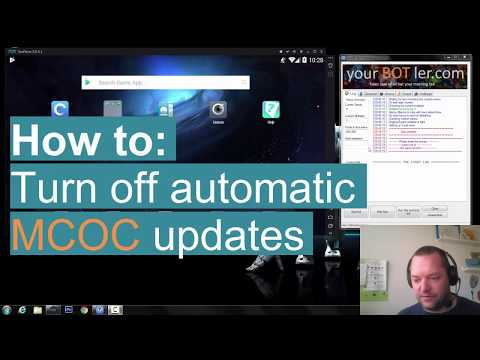 How to: Turn off MCOC auto updating